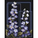 Wzór graficzny - Delphinium - B. Sikora-Małyjurek