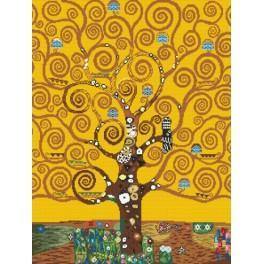 Wzór graficzny - Drzewo życia – G. Klimt