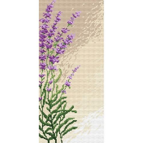 Wzór graficzny - Aromatyczna lawenda - B. Sikora-Małyjurek