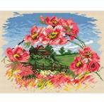 Wzór graficzny - Pozdrowienie wiosenne