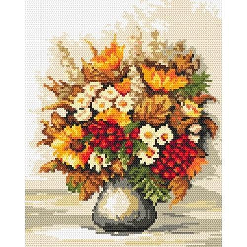 Wzór graficzny - Jesienny bukiecik - B. Sikora-Małyjurek