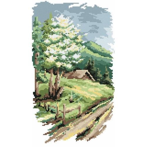 Wzór graficzny - 4 pory roku - wiosna - B. Sikora-Małyjurek