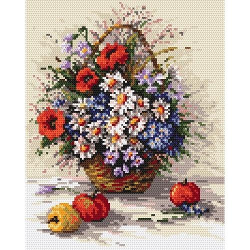 Wzór graficzny - Polne kwiaty