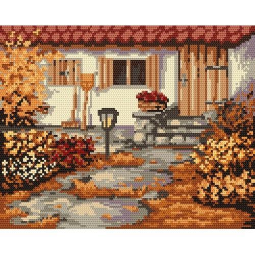 Wzór graficzny - Jesienny ogródek - B. Sikora
