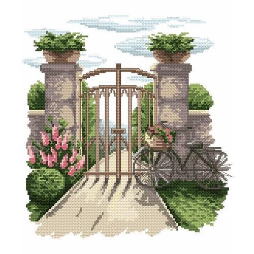 Wzór graficzny - Tajemniczy ogród - B. Sikora