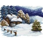 Wzór graficzny - świąteczny wieczór - B. Sikora-Małyjurek