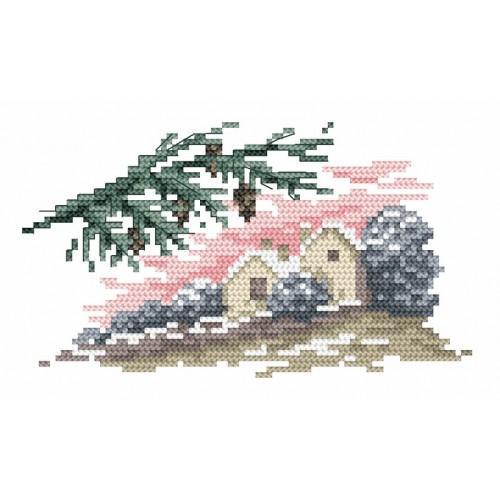 GC 4565 Wzór graficzny - Zima