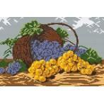 Wzór graficzny - Kosz winogron