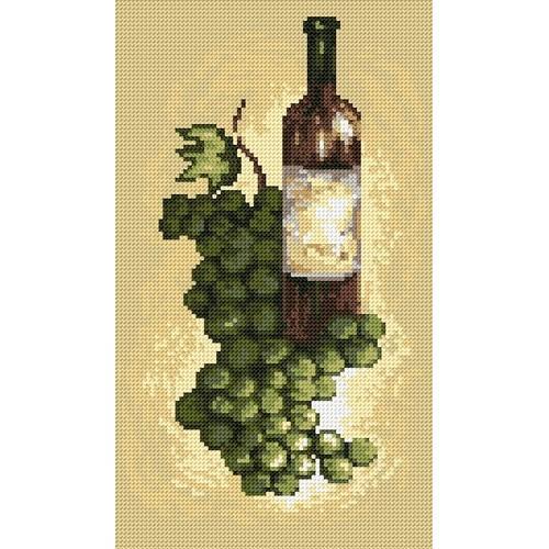 Wzór graficzny - Wino białe - B. Sikora-Malyjurek