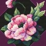 Wzór graficzny - Barwny kwiat - B. Sikora