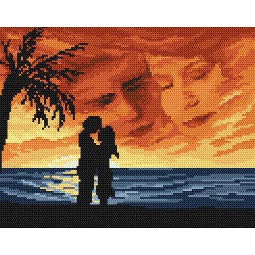 Wzór graficzny - Zakochani - B. Sikora-Małyjurek