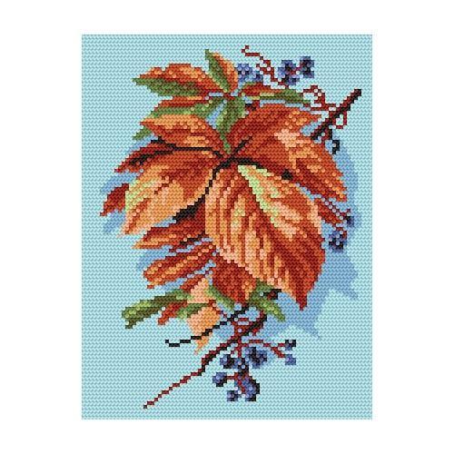 Wzór graficzny - Jesienne liście
