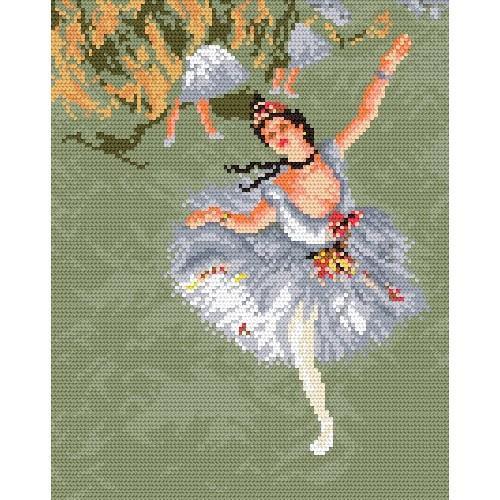 Wzór graficzny - Gwiazda - E. Degas