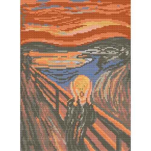 Wzór graficzny - Krzyk - Edvard Munch