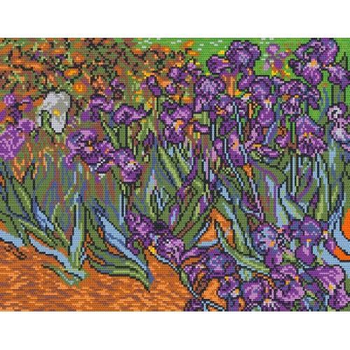 Wzór graficzny - Irysy - V. van Gogh