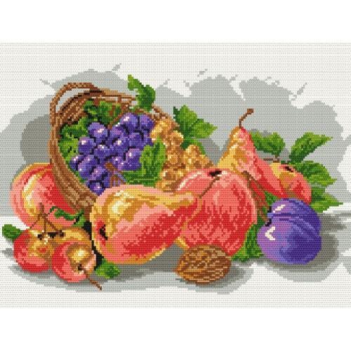 Wzór graficzny - Owoce jesieni