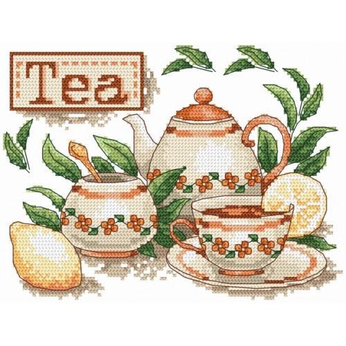 Wzór graficzny - Herbatka
