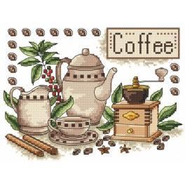 Wzór graficzny - Kawa