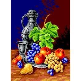 Wzór graficzny - Kielich i owoce