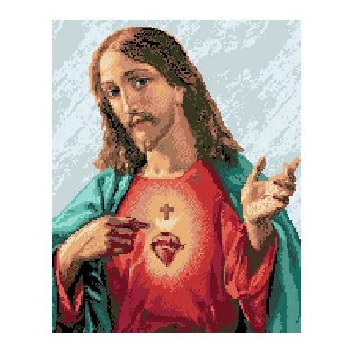 Wzór graficzny - Miłosierne serce Jezusa