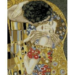 Wzór graficzny - Pocałunek - G. Klimt