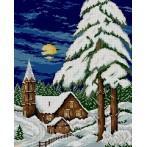 Wzór graficzny - Zimowy wieczór