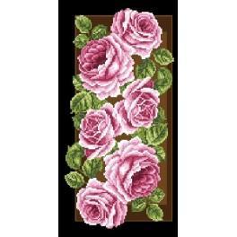 GC 6546 Wzór graficzny - Róże na panelu