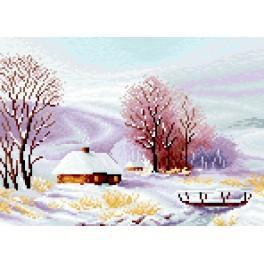 GC 7184 Wzór graficzny - 4 pory roku - zima