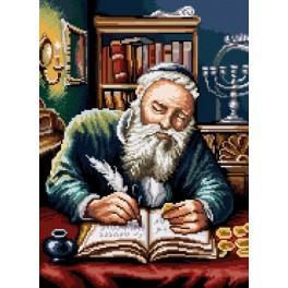 GC 7192 Wzór graficzny - Żyd liczący pieniądze wg P. Sobczyk
