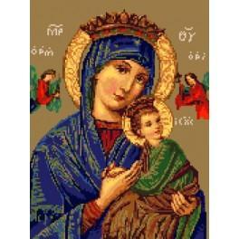 Wzór graficzny - Matka Boska Nieustającej Pomocy