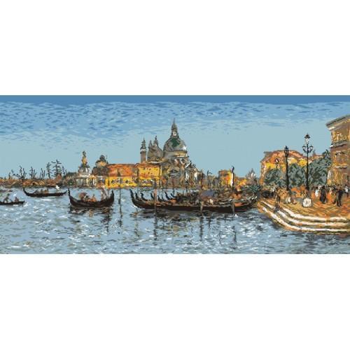 Wzór graficzny - Wenecja - E. Boudin