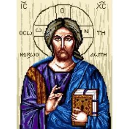 Wzór graficzny - Ikona - Jezus