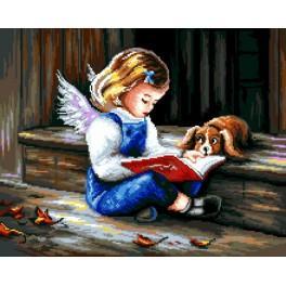 Wzór graficzny - Anioł