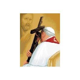GC 7260 Wzór graficzny - Jan Paweł II