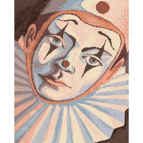 Wzór graficzny - Pierrot - A. Śliwa-Klara
