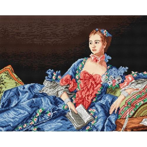 Wzór graficzny - Madame Pompadour