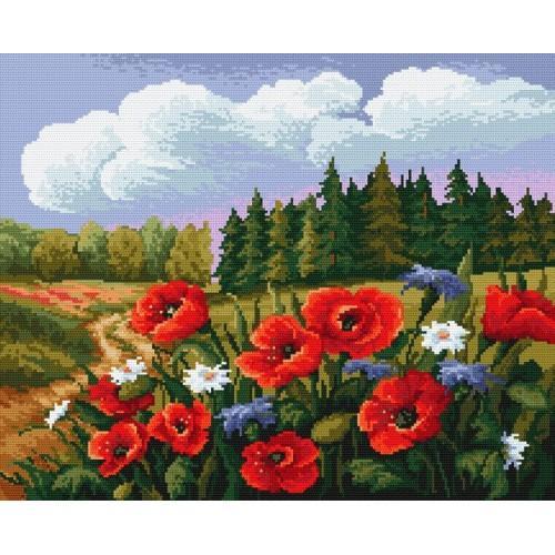 Wzór graficzny - Letnia łąka