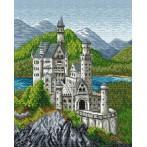 Wzór graficzny - Zamek bawarski