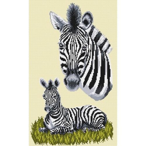 Wzór graficzny - Zebry - A. Songin
