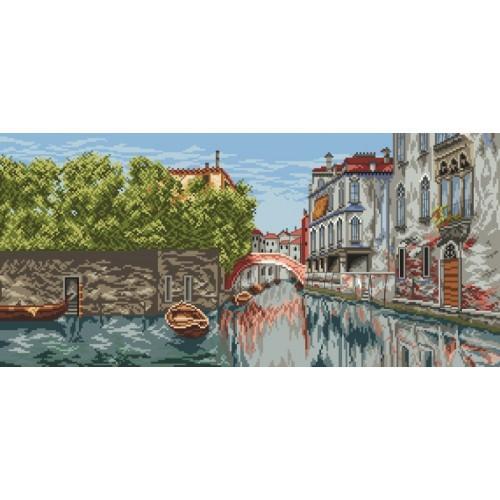 Wzór graficzny - Wenecki pejzaż