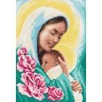 Wzór graficzny - Maryja z dzieciątkiem