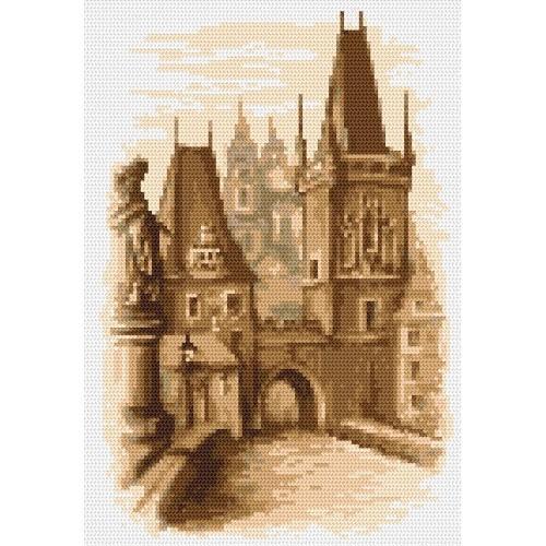 Wzór graficzny - Most Karola - Praga