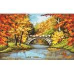 Wzór graficzny - Złota jesień
