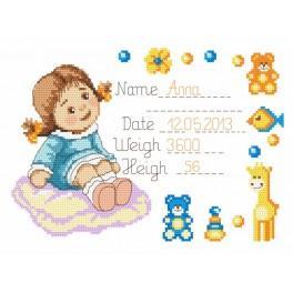 GC 8284 Wzór graficzny - Przywitajmy Anię