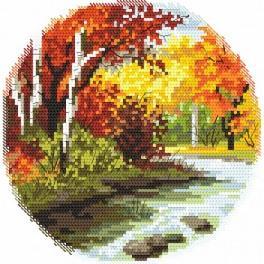 Wzór graficzny - Cztery pory roku – jesień