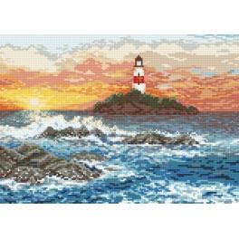 Wzór graficzny - Skaliste wybrzeże