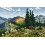 Wzór graficzny - Lato w Tatrach
