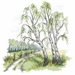 Wzór graficzny - Droga do domu