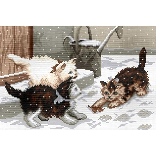 Wzór graficzny - Zabawa na śniegu