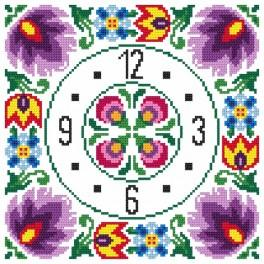 Wzór graficzny - Zegar etniczny